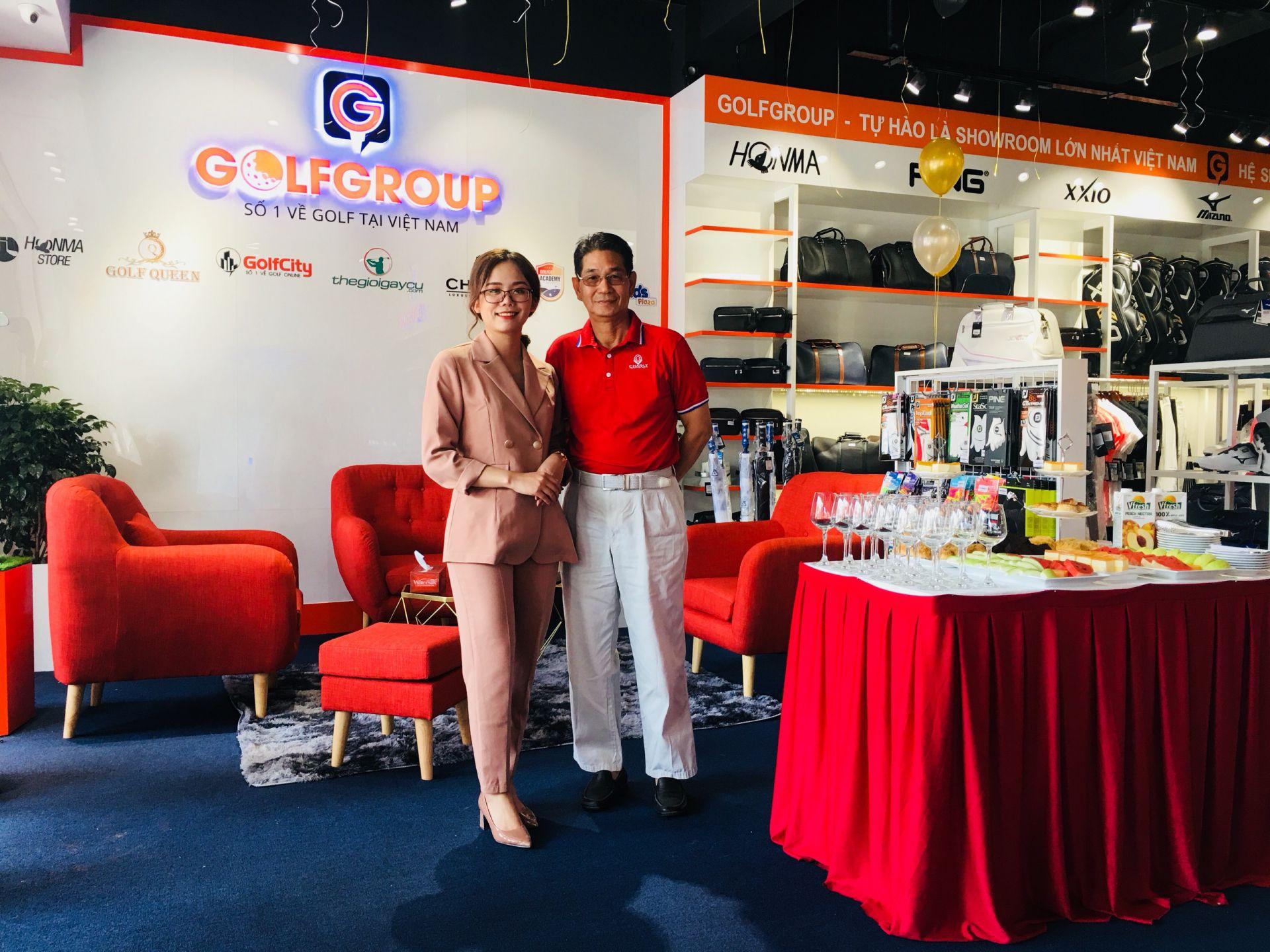 Golfgroup vinh hạnh đón tiếp HLV Ngô Chí Dũng tham dự lễ khai trương showroom tại HCM!