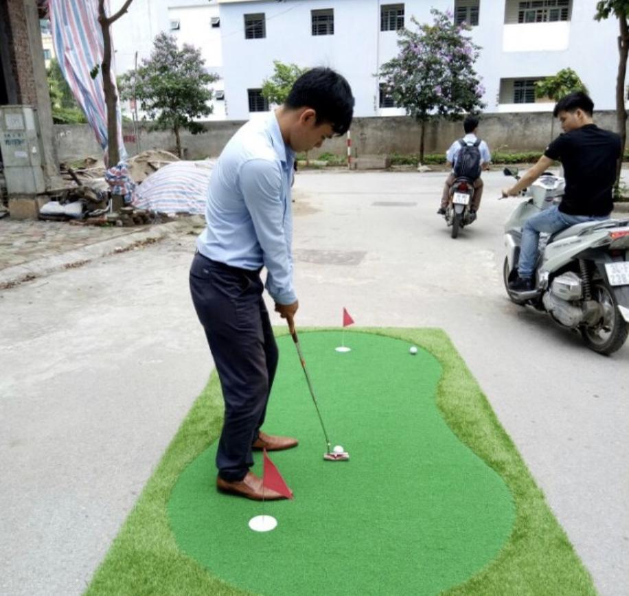 Thảm tập put GolfGroup GG 075300/130250/150300