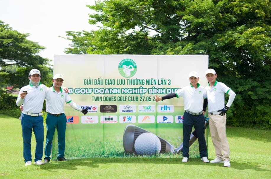 Tập đoàn Golfgroup đồng hành cùng Giải golf giao lưu thường niên lần 3 của CLB golf Doanh Nhân Bình Dương!