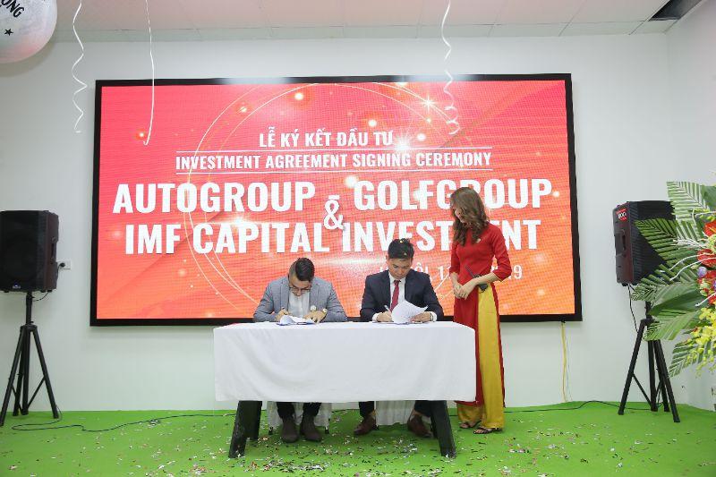 Khai trương hồng phát, GolfGroup - AutoGroup nhận quỹ đầu tư Dubai 1,5 triệu USD