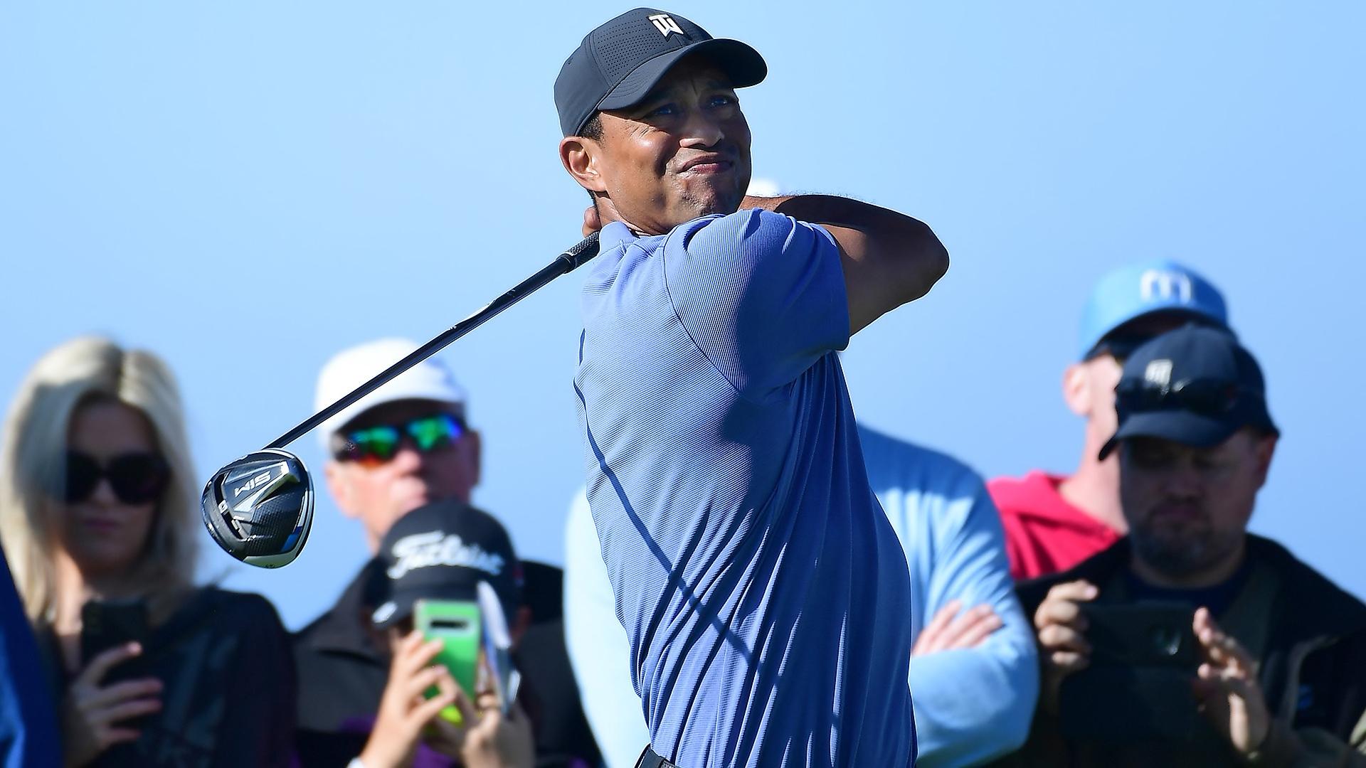 TaylorMade SIM vừa ra mắt đã lọt mắt xanh tay golf số 1 thế giới Tiger Woods