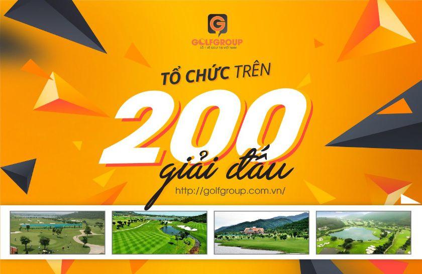 Tổ chức trên 200 giải đấu