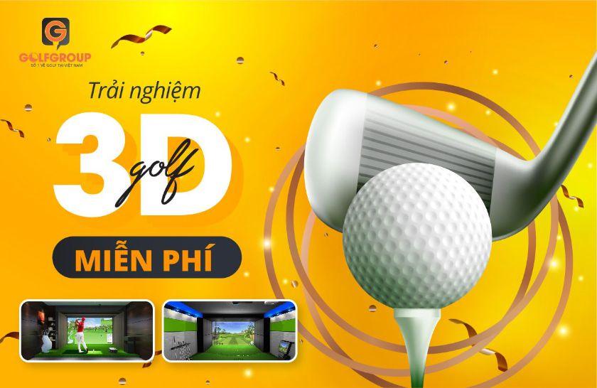 Trải nghiệm golf 3d
