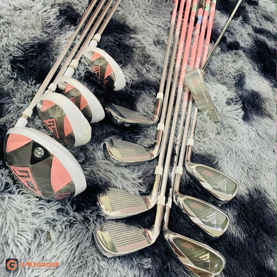 """Choáng ngợp với nước cờ xoay chuyển – Kenichi Nhật Bản tung phiên bản gậy """"Kenichi Victory.G Lady"""" chiếm spotlight thị trường golf nữ."""