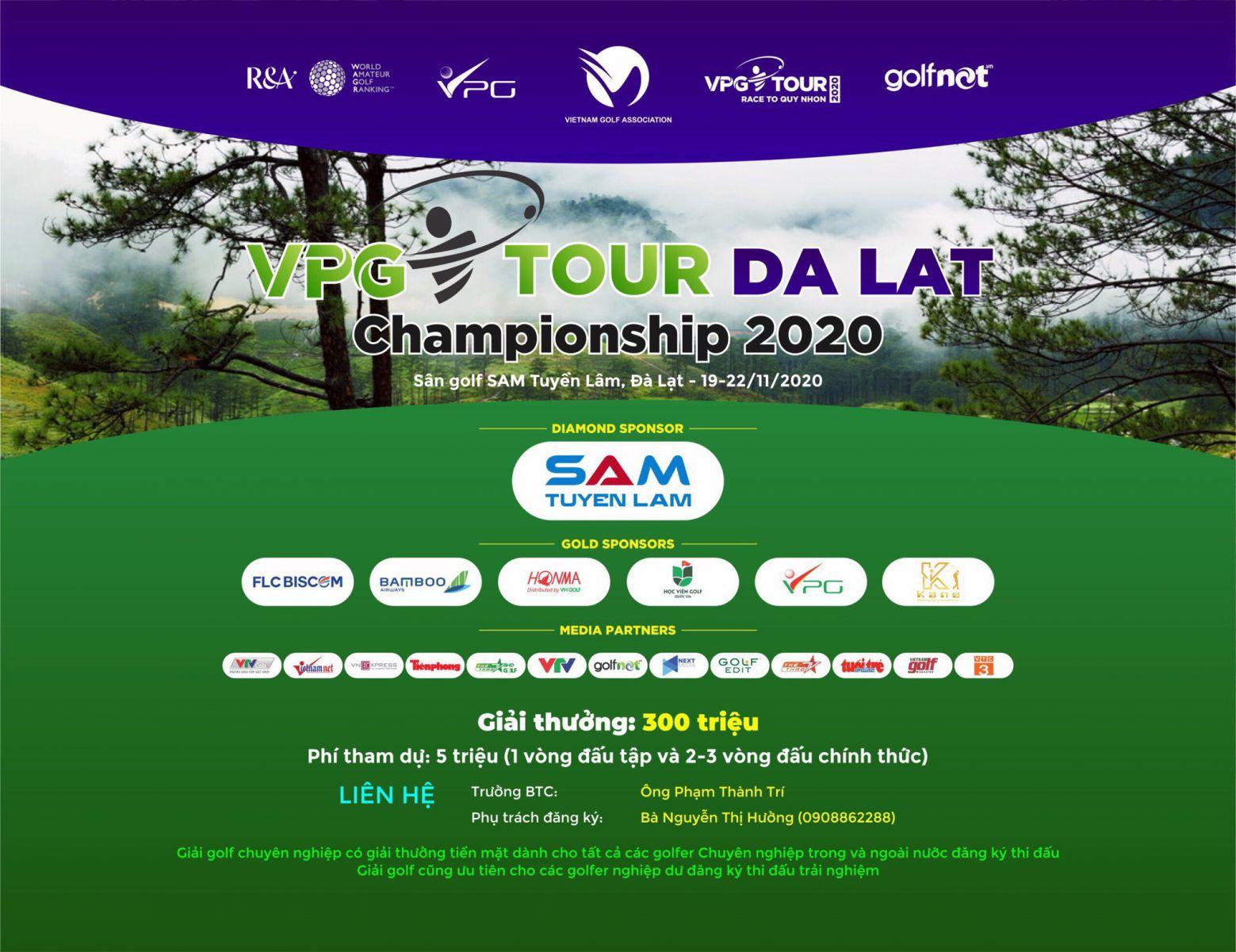 Đại diện Golfgroup – HLV Bùi Hoành tham dự giải Golf chuyên nghiệp - VPG Tour Da Lat Championship 2020