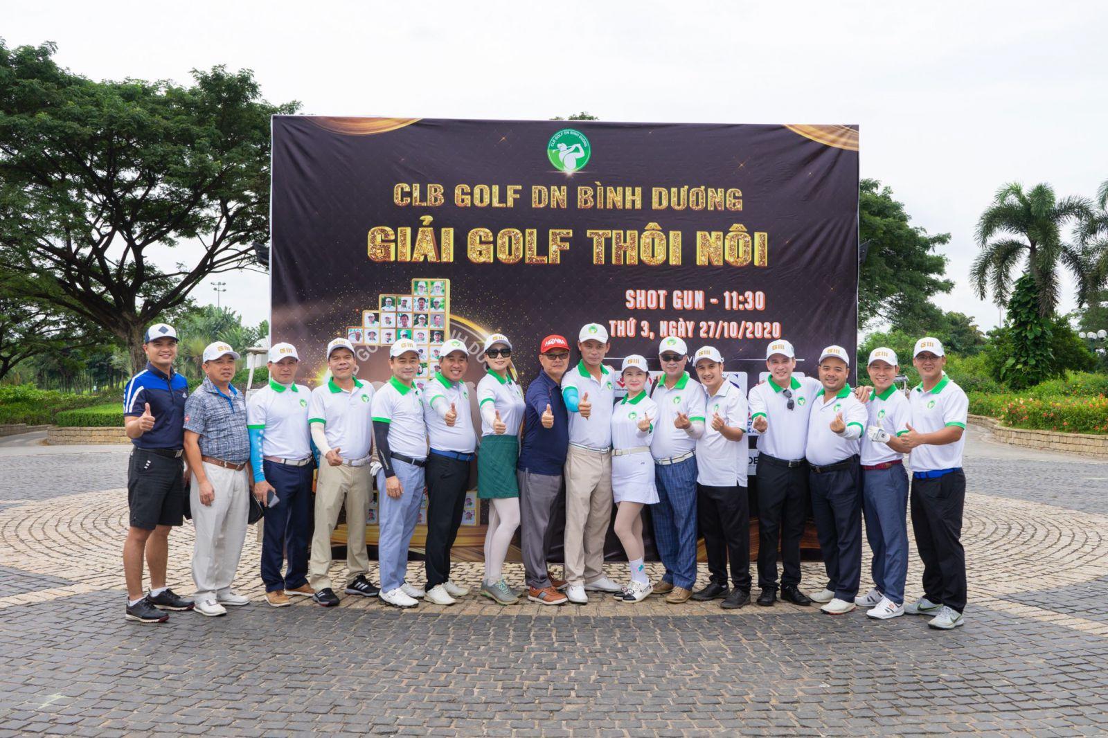 Giải Golf Thôi Nôi - Mừng Sinh nhật 1 tuổi của CLB Golf Doanh Nhân Bình Dương