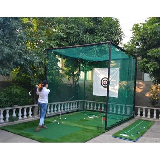 Cách chọn khung lưới tập golf chất lượng tốt nhất. Hướng dẫn lắp đặt lồng tập golf đơn giản tại nhà