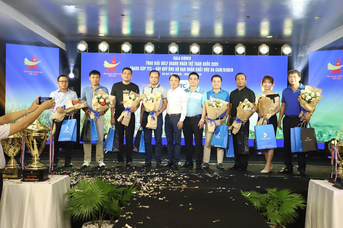 Golfgroup-Kenichi Việt Nam tài trợ giải Golf Doanh Nhân Trẻ Toàn Quốc Lần Thứ VIII 2020