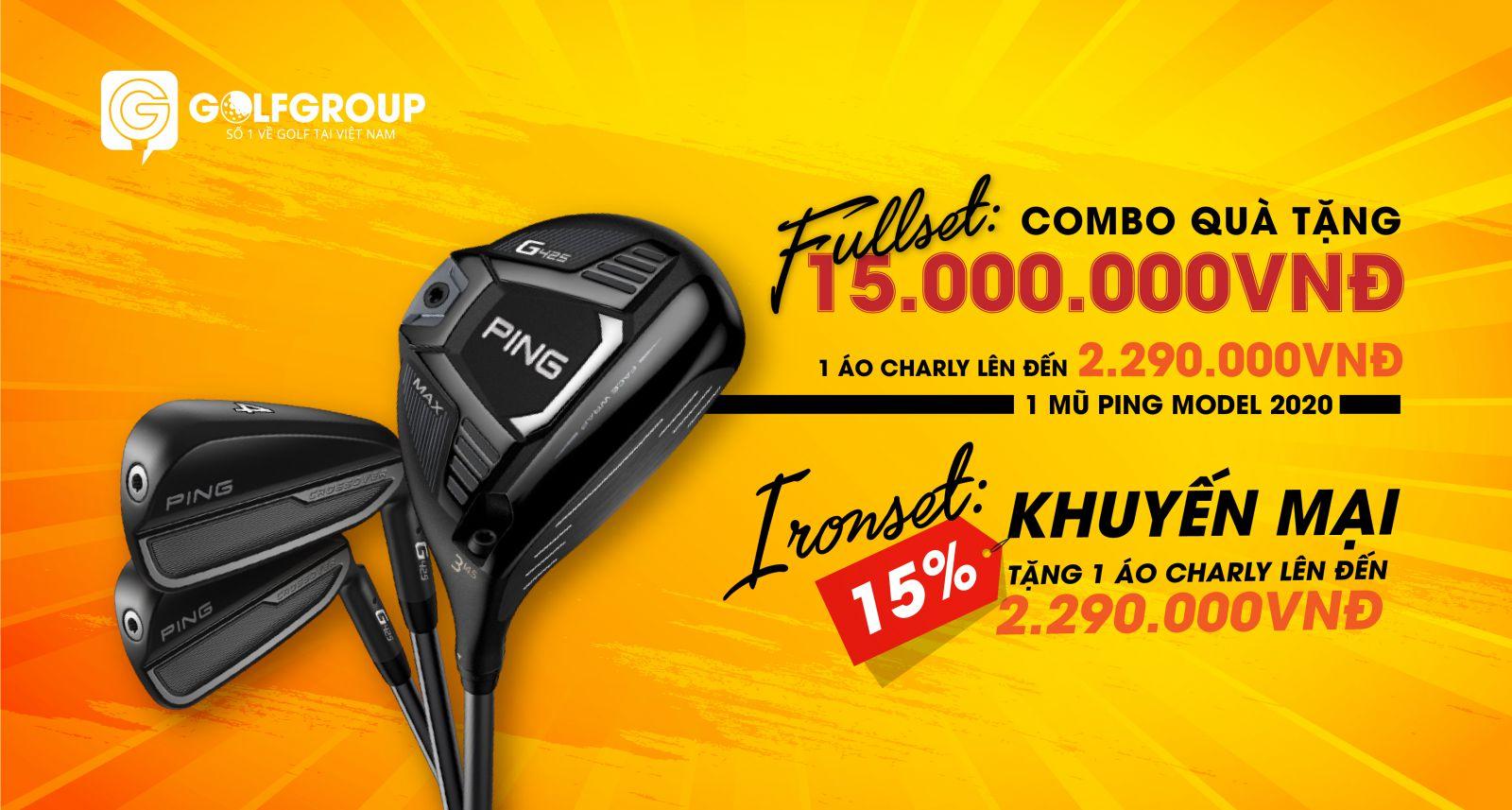 Fullset Ping G425 100% Nhập Khẩu Chính Hãng