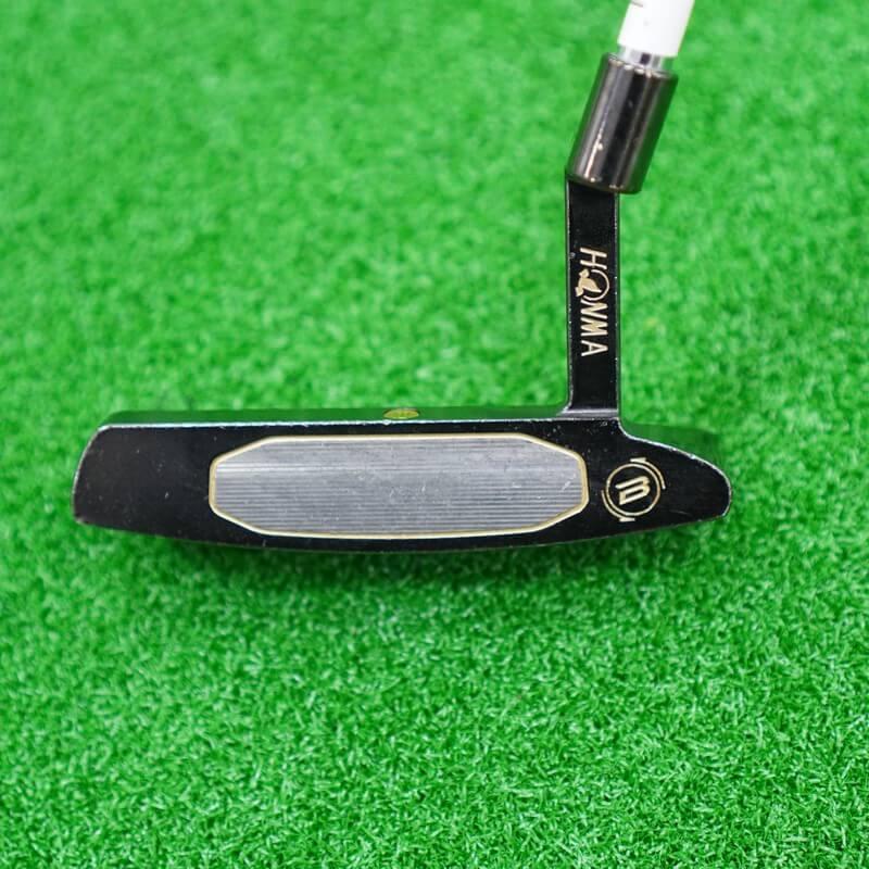 Thiết kế mặt gậy golf cũ Honma Putter PP-001 Black