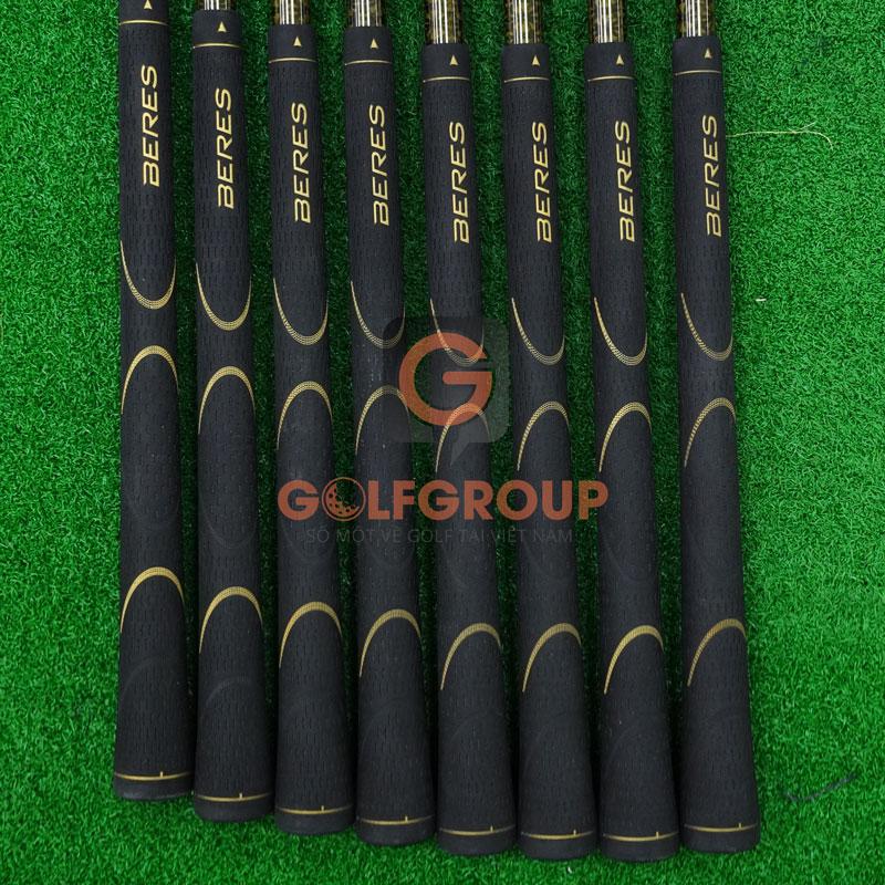 Bộ gậy golf Honma cũ IS02 3 sao 2 phiên bản cán vàng/navy
