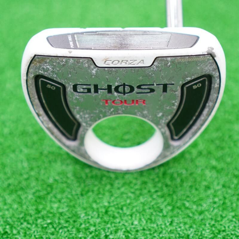 Bán gậy golf cũ Putter Taylormade Ghost Tour Corza White