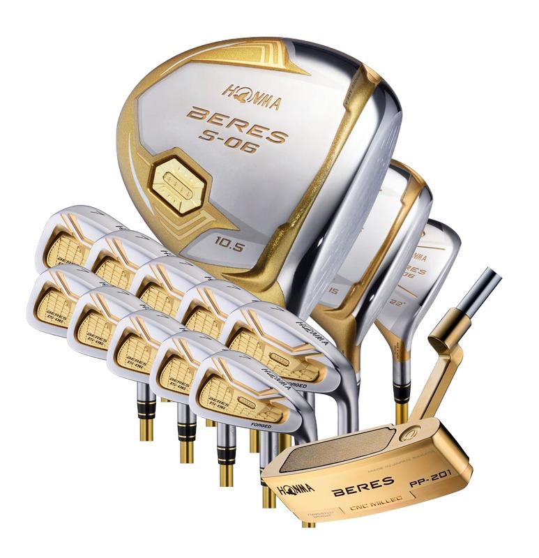 Bộ gậy golf Honma S06 4 sao fullset chính hãng