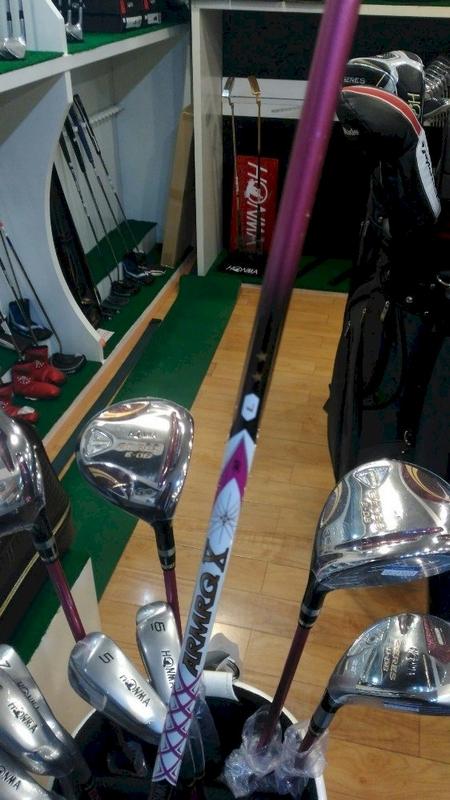 Bộ gậy golf Fullset nữ Honma E-06 Lady 2 sao