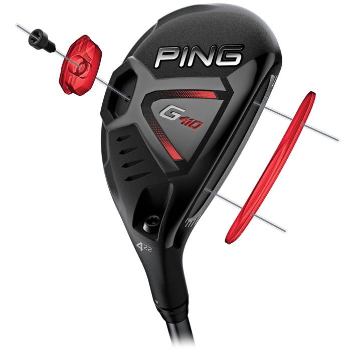 Gậy golf Rescue 4 Ping G410 22 độ