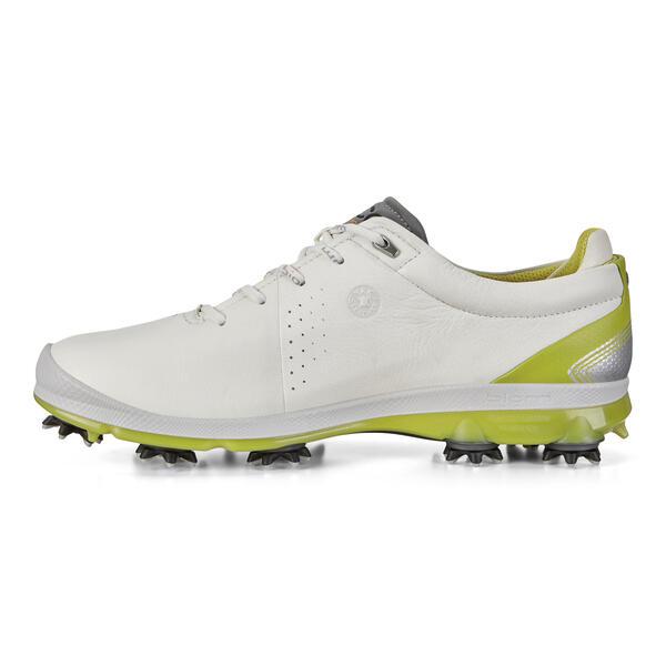 Giày golf nam Ecco BIOM G 2 white kiwi/ white apple