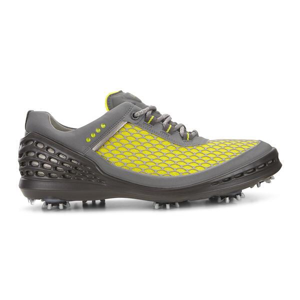 Giày golf nam ECCO Cage EVO phiên bản Grey/Lemon