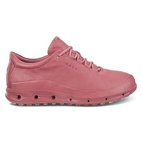Giày chơi golf nữ ECCO Cool Pro 2 phiên bản hồng đất và xanh pastel