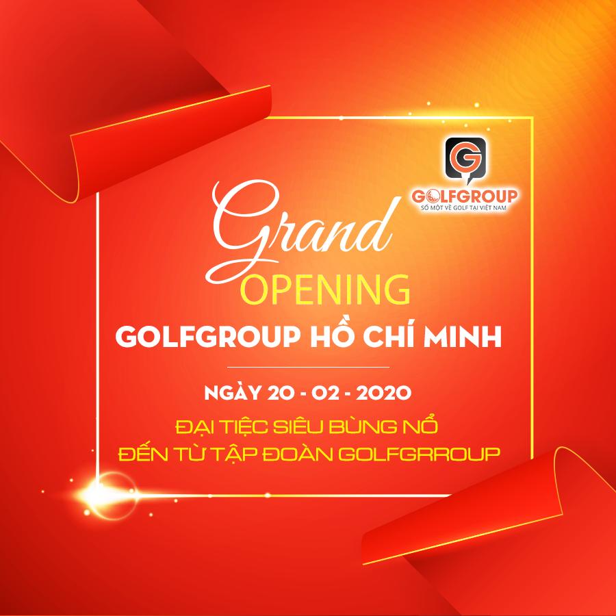 Đếm ngược ngày ra mắt đại siêu thị golf siêu khủng Golfgroup tại 834 Nguyễn Văn Linh