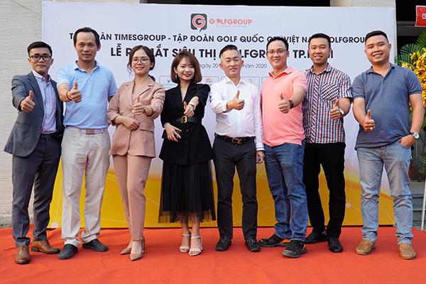 Golfgroup Hồ Chí Minh vinh hạnh đón tiếp Câu lạc bộ golf Doanh nhân Bình Dương!