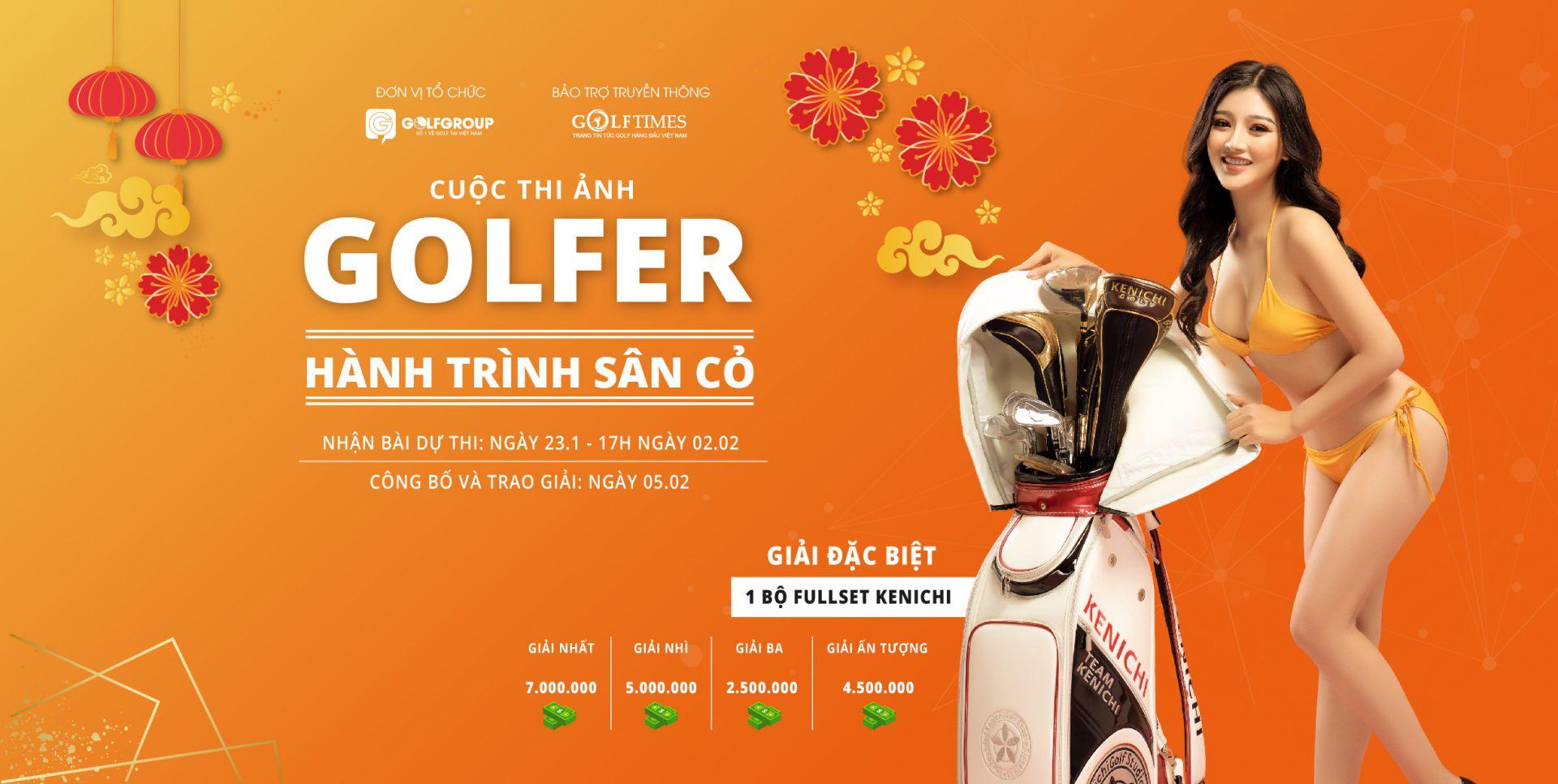 Chào xuân Canh Ty - Golfgroup rầm rộ tổ chức cuộc thi ảnh Golfer: HÀNH TRÌNH SÂN CỎ