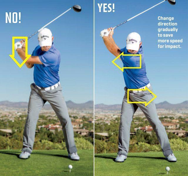 Hướng dẫn chuyển đổi trọng tâm cơ thể khi thực hiện kỹ thuật swing driver