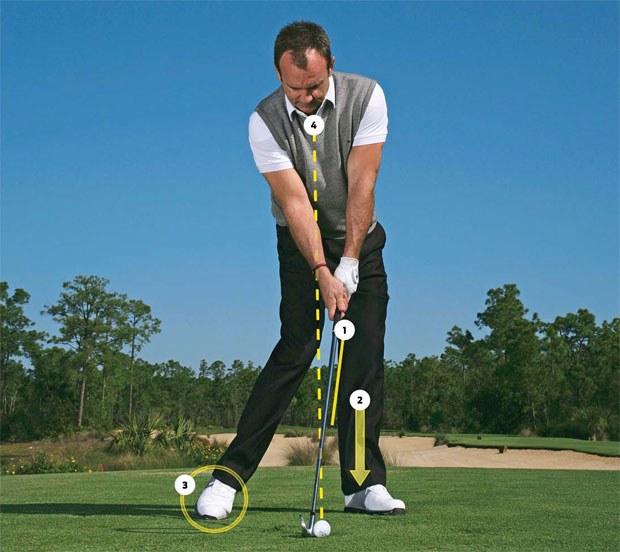 Học cách  swing golf với tư thế chuẩn