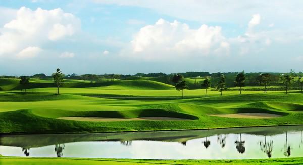 Thiết kế của sân golf Twin Doves