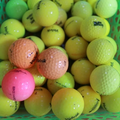 Bóng golf cũ nhiều thương hiệu