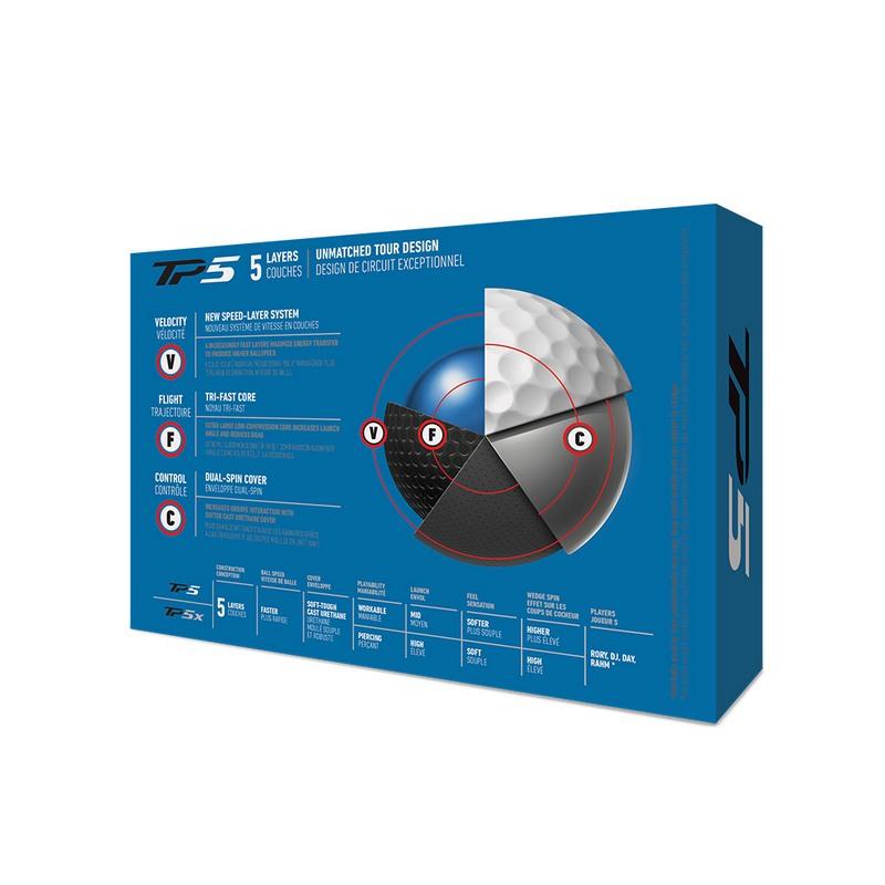 Bóng golf Taylormade TP5 - TM19 TP5 GLB dz chính hãng