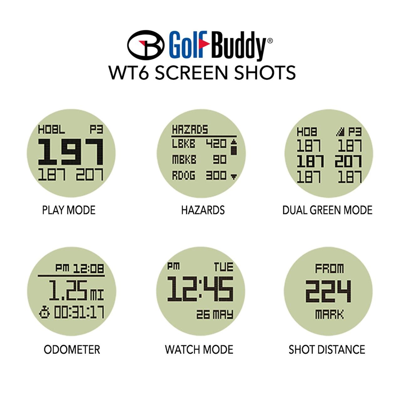 Golf Buddy WT6 GPS RangeFinder