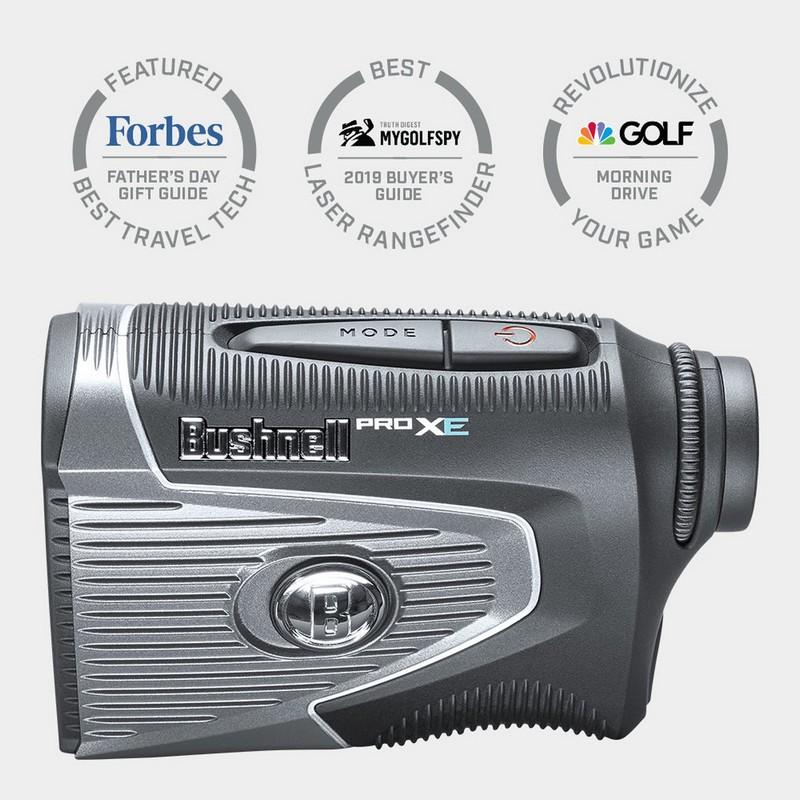 Máy đo Bushnell Pro XE thích hợp chơi golf ban đêm