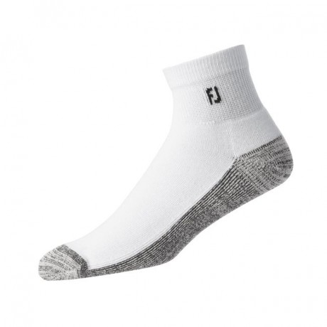 FootJoy M ProDry Quarter White Asia Socks