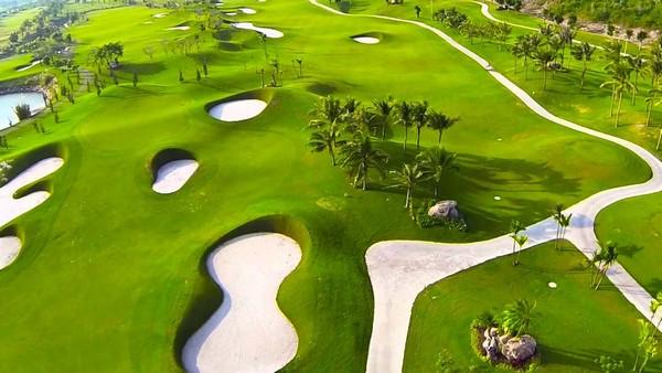Thử thách tại sân golf Diamond Nha Trang