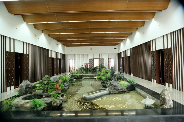 Khu vực resort tại sân golf yên thắng Ninh bình