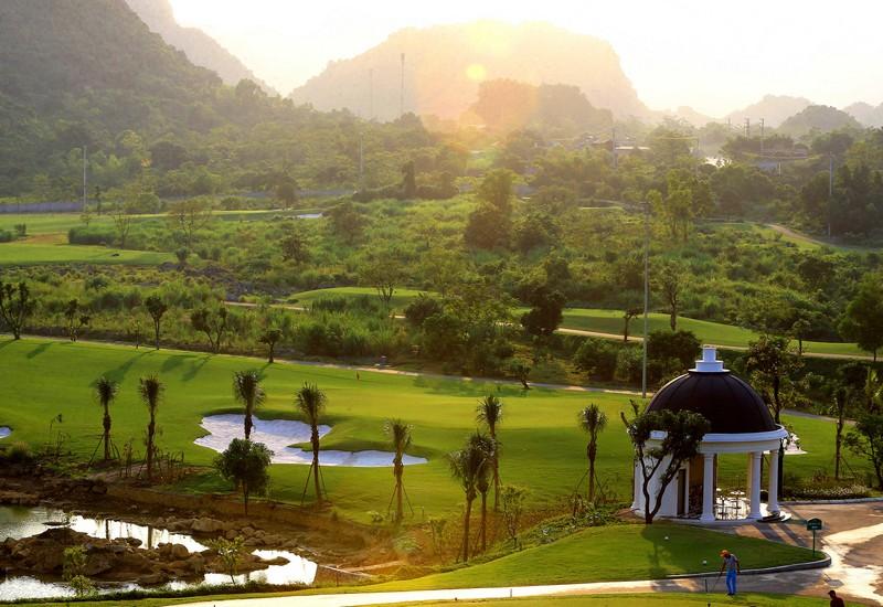 Quang cảnh sân golf Kim Bảng hà nam