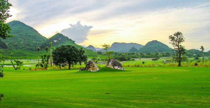 Toàn cảnh sân golf Kim Bảng Hà Nam