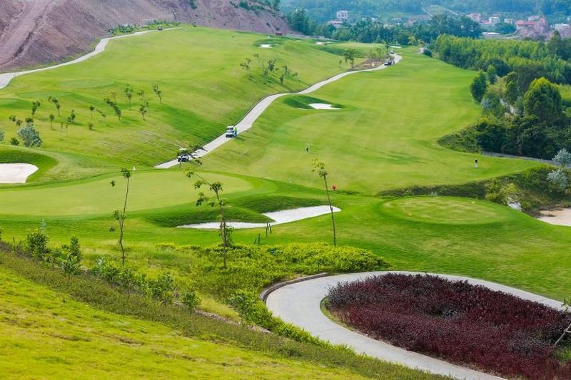 Toàn cảnh sân golf Yên Dũng Bắc Giang