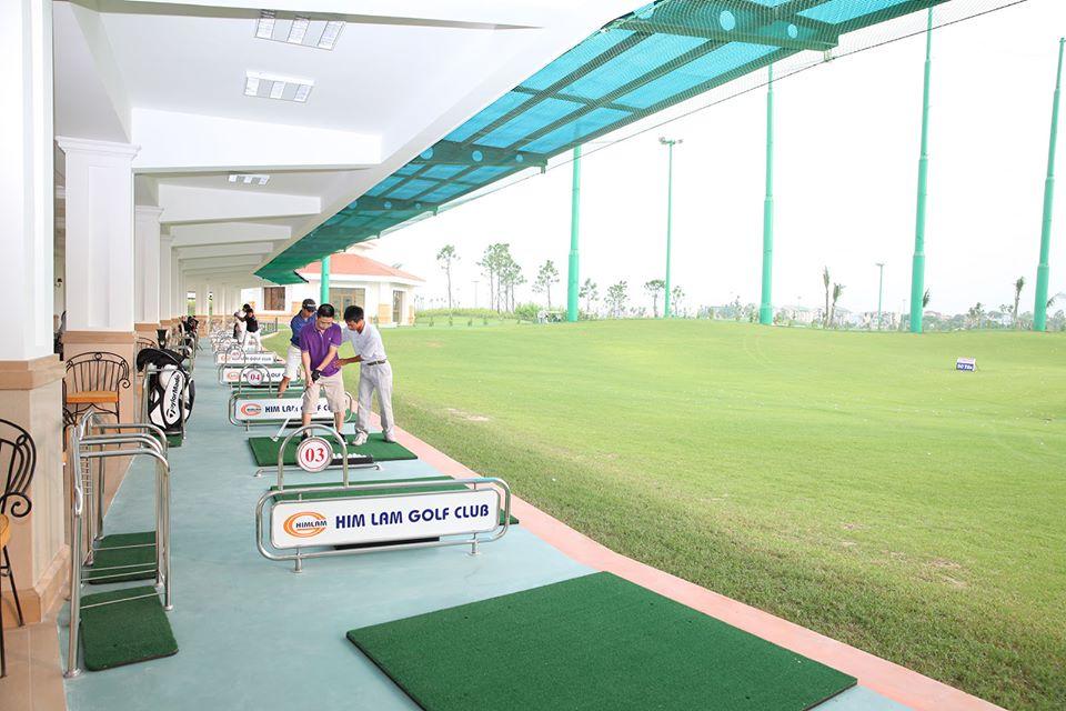 Sân tập golf Long Biên