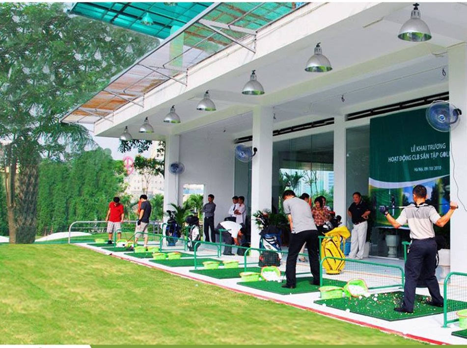 Sân tập golf Viettime