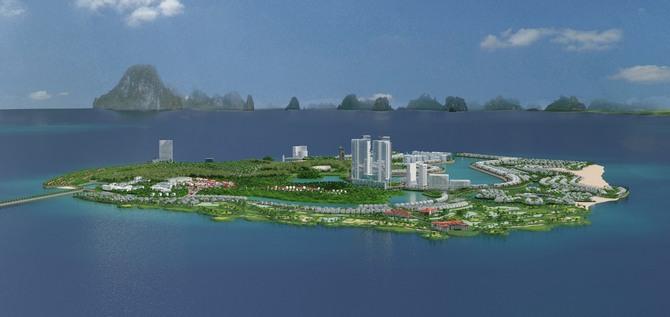 Tiến độ dự án sân golf Tuần Châu Hạ Long! Liệu có hoàn thành trong năm 2020?