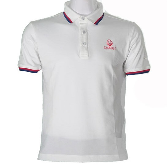 Áo Charly Act-Cooling Polo Trắng