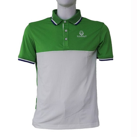 Áo golf Act-Cooling Polo Wh/Gr