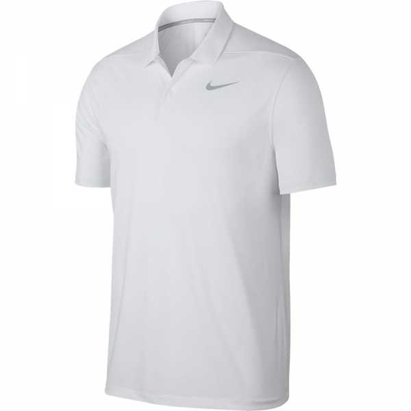 Áo golf nam Nike Men Victory Solid Polo Swoosh Logo Left Chest - 891857-100