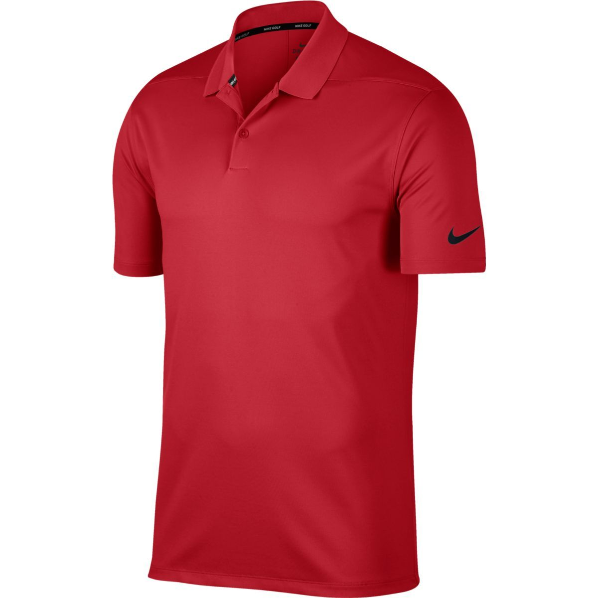 Nike Men Victory Solid Polo Red