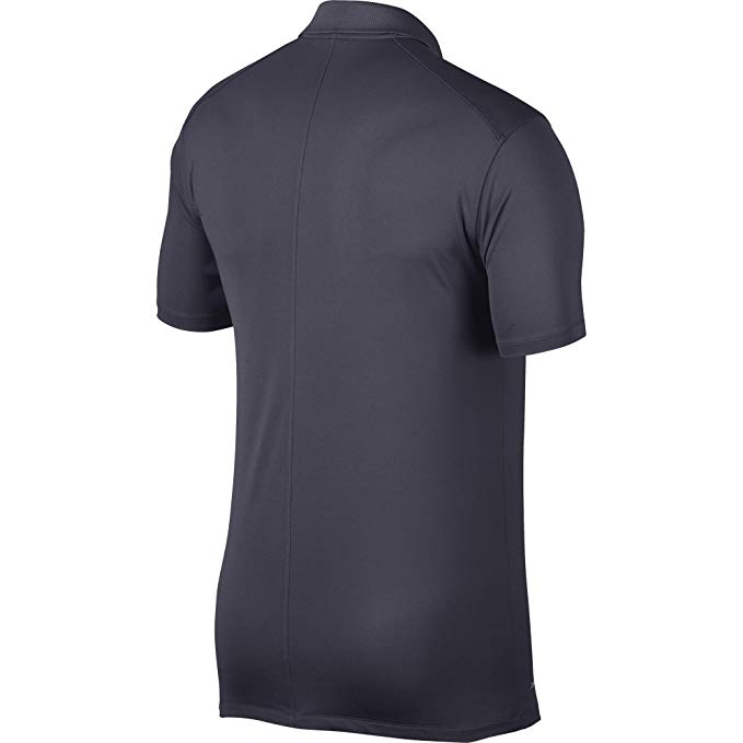 Áo golf nam cộc tay Nike Men Victory Solid Polo Grey Swoosh Logo Left Chest - 891857-010