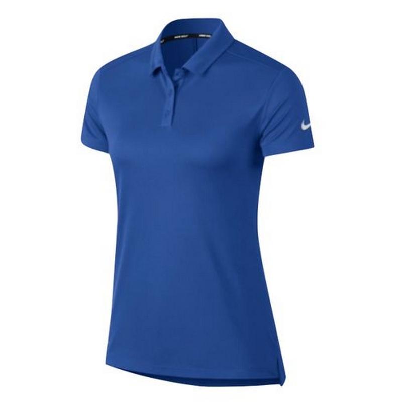 Áo golf nữ Nike Women Dry Polo SS Blue 884871-480