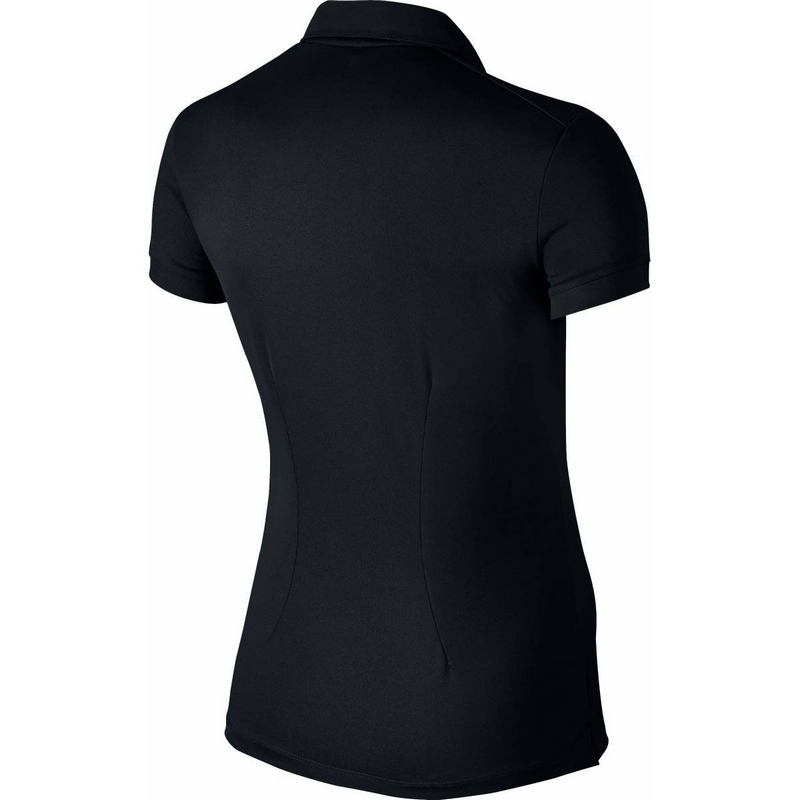 Áo golf nữ Nike Women Dry Polo SS Black 725582-010