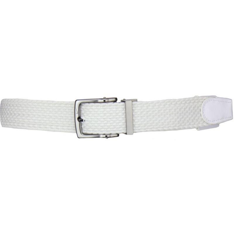 Thắt lưng golf Nike Men Stretch Woven 809023-100 màu trắng