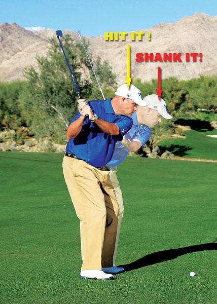 nguyên nhân khiến bị Shank golf